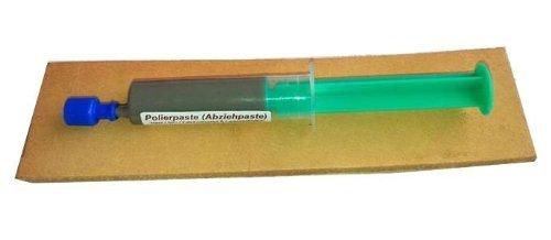 Messerabziehpasten-Set: 5ml POLIERPASTE + 20cm LEDERRIEMEN, von Scherenkauf®