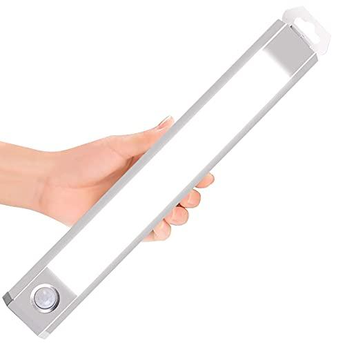 YanyanDz Luz de Sensor de Movimiento Interior 60 LED Luz de Armario Activada por Movimiento Luz de Bajo Gabinete para Cocina Armario Escaleras Dormitorio Pasillo