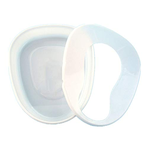 YFGlgy Split Type Bed Pan Bedridden Paralyzed Elderly Care Bedpan Plastic Toilet Bowl, Seat Urinal Potty for Men and Women