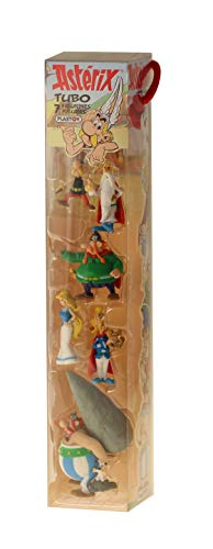 Plastoy -Asterix-Village Tube 7 Figurines 5