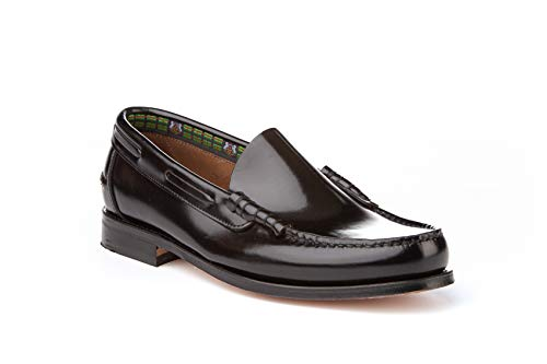 Mocasines Hombre de Piel. Zapatos Castellanos cómodos para