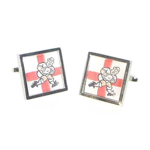 Ashton and Finch England George Cross Rugby Player Cufflinks