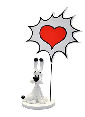 Plastoy SAS Idefix 131 - Juego de Mesa con Burbuja de Voz, diseño de corazón 1