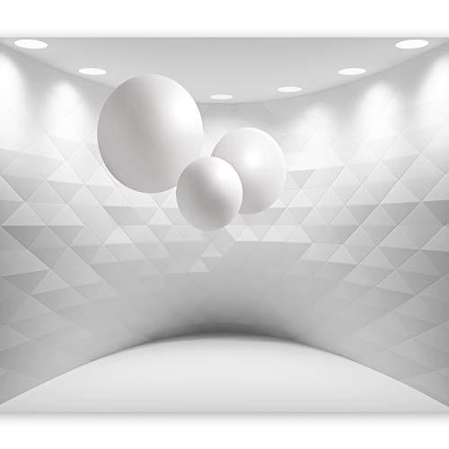 murando Fotomurales Efecto 3D 400x280 cm XXL Papel pintado tejido no tejido Decoración de Pared decorativos Murales moderna de Diseno Fotográfico Optica Bolas a-C-0098-a-a
