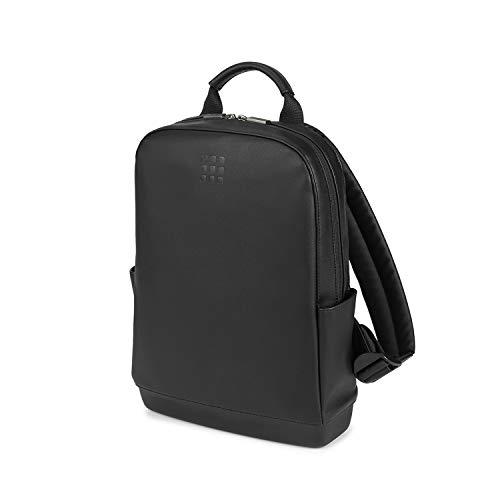 Moleskine - Classic Small Backpack, kleiner Laptop-Rucksack kompatibel mit Computer, Laptop, Notebook und iPad bis 13'', Größe 27 x 36 x 9 cm, Schwarz