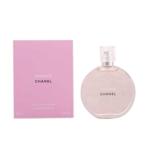 Chanel Chance Eau Vive Eau de Toilette Spray for Women, 1.7 Ounce