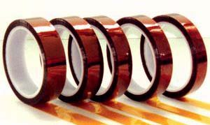 Kapton Tape TEW PPTDE-02 Double Sided Polyimide Tape, 500 Degree F Temperature, 1/4