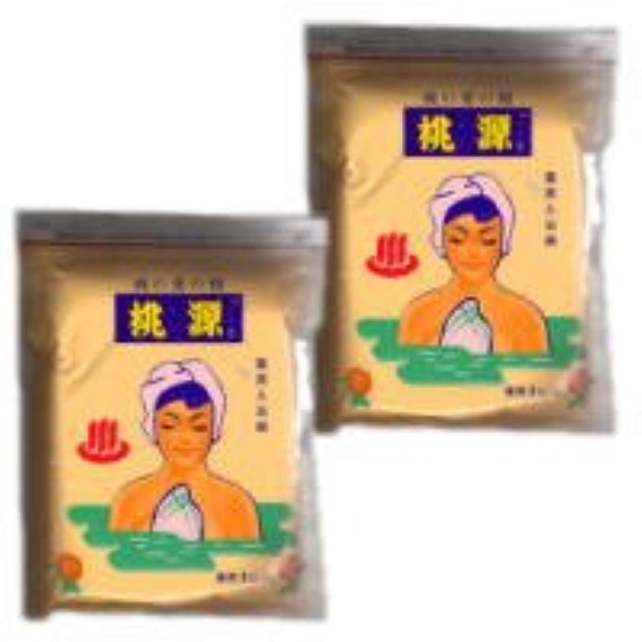 放送不十分なピース桃源(とうげん)s 桃の葉の精 1000g 袋入り 2個