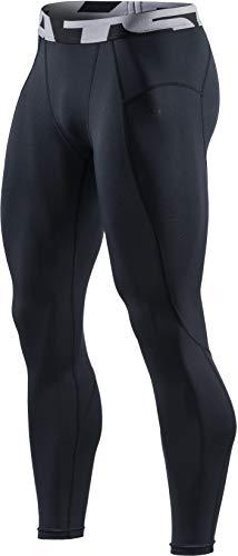 (テスラ)TESLA コンプレッションパンツ スポーツウェア [UVカット・吸汗速乾] コンプレッションウェア ランニングウェア スポーツ ロングパンツ フィットネス ジム トレーニング MUP29-BBZ_M