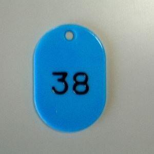 クラウン 番号札 小 番号入 2桁 空 CR-BG31-SB(1-100)