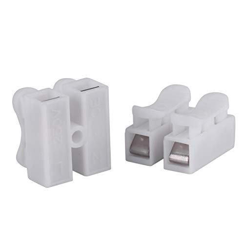 50 piezas/lote de conector rápido, abrazaderas de cable rápidas para conectar abrazaderas...