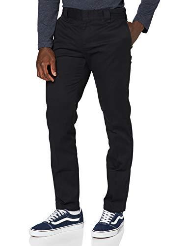 Dickies Slim Fit Work Pant Pantalones, Negro (Black BK), W30/L32 para Hombre