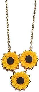 Necklace - Sunflower