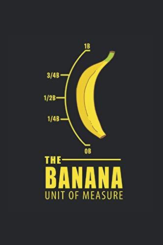 Kalender 2021: Banane Maßeinheit Gelb Nerd Lustiges Geschenk 120 Seiten, 6X9 (Ca. A5), Jahres-, Monats-, Wochen- & Tages-Planer