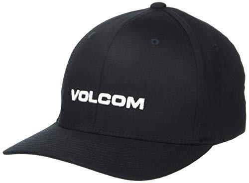 Volcom Euro Xfit Herren-Kappe L Schwarz (New Black)