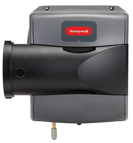 Furnace Humidifier, 2000 sq. ft, Drain Bypass, Gray