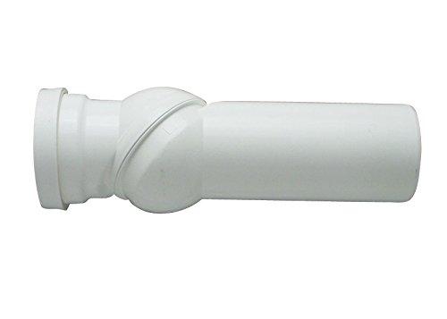 Cornat KBV9000 WC-Gelenk-Ablaufbogen 0-90 Grad verstellbar, weiß