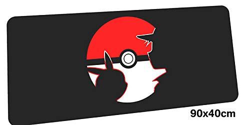 Pokemon muismat, computer gamer, muismat 900 x 400 x 2 mm, afmetingen 900 x 400 x 2 mm