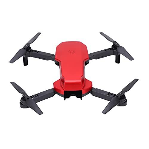 Tuzoo S3 Dual Camera RC Quadcopter Drone, Stabile S3 Drone Fotografia Aerea Pieghevole HD con Funzione WiFi per Un Volo Sicuro(Rosso)