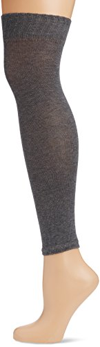 KUNERT Damen weiche Strick Stulpen, 293500 Liz, One size, Grau (Marengo 0040)