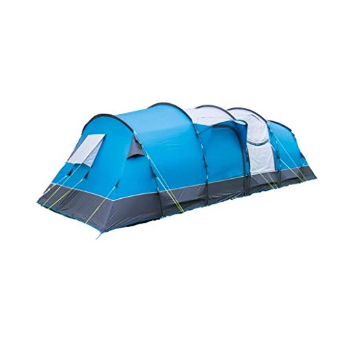 Royal Buckland 8 Man Tent - Tunnel Tent 5000mm h/h Blue
