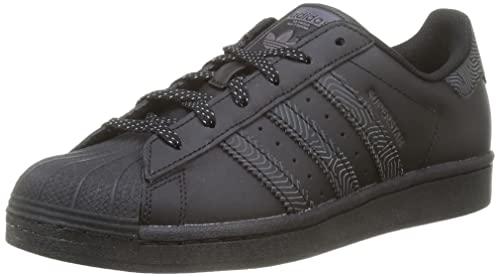adidas Superstar, Sneaker Hombre, Core Black/Core Black/Core Black, 37 1/3 EU