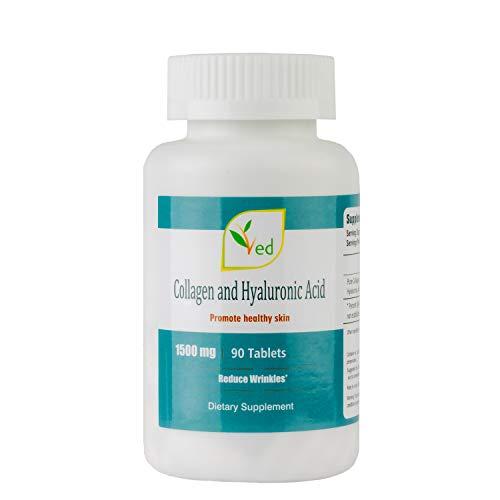 Ultra Puro di collagene e acido ialuronico per la cura della pelle - 90 Tablets 3 months supply