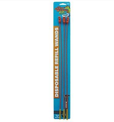3er Nachfüllpack für das Abflusswiesel, Einmal-Ersatzstäbe, 3er-Set à 46 cm