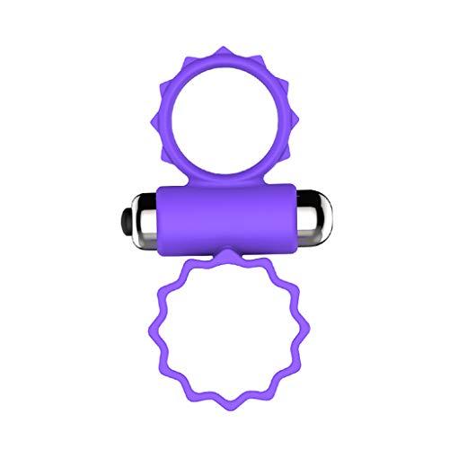 Lukay - Anillo de masaje para hombre en V, anillo de masaje prematuro, anillo fino, juguete de ayuda masculina