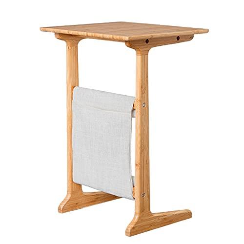 LICHUAN Mesa de noche moderna y minimalista para el hogar, mesa pequeña, dormitorio, escritorio, escritorio, oficina, color B