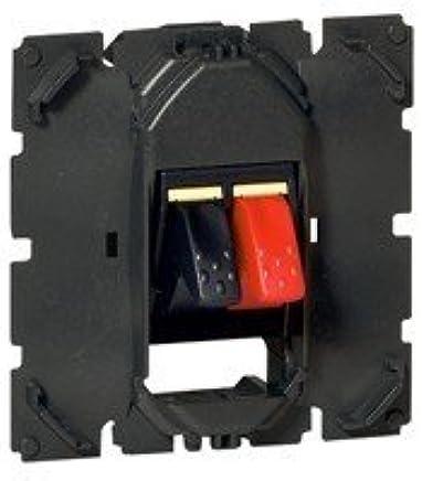 Legrand LEG95229 HP BLC dooxie Prise Haut Parleur Double Blanc composable