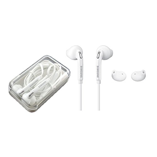 Samsung OEM Wired 3.5mm Headset with Universal compatibility EO-EG920LW (Jewel Case w/ Extra Eargels)