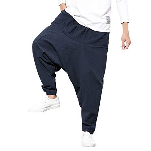 serliy😛Haremshose in vielen Farben,Herren Haremshose Mode,Männer Aladinhose Pluderhose Yoga Goa Hosen Sarouel Baggy Freizeithose