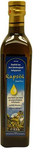 Ölmühle Haubern - Waldecker Rapsöl Nativ - 500 ml