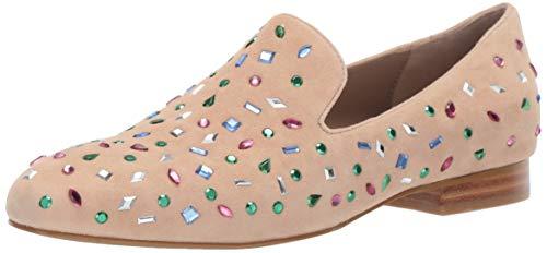 Donald J Pliner Women's LANASP-KS Loafer Flat Nude 9 B US
