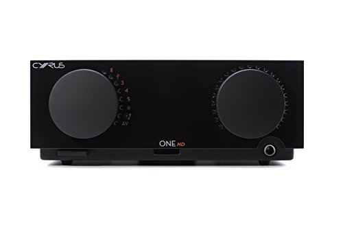 Cyrus ONE HD - versterker met digitale en analoge ingangen en Bluetooth