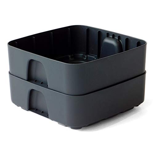 The Essential Living Composter - Expansion Tray Set (Black)