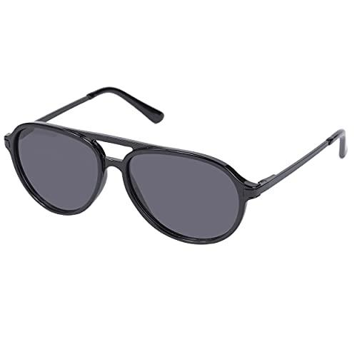 Isotoner - Gafas de sol unisex para adulto, lentes polarizantes Negro S alto