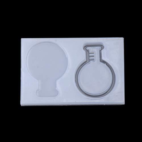 Silikonowa forma piasku butelka infuzyjna produkcja biżuterii formy z żywicy epoksydowej ozdoba narzędzia