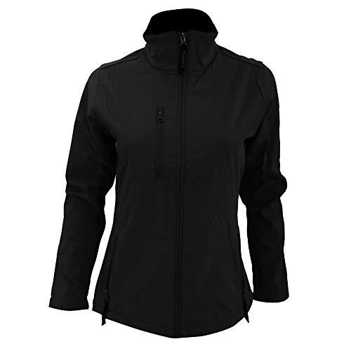 Women´s Octagon Softshell Jacket - Farbe: Black - Größe: 46