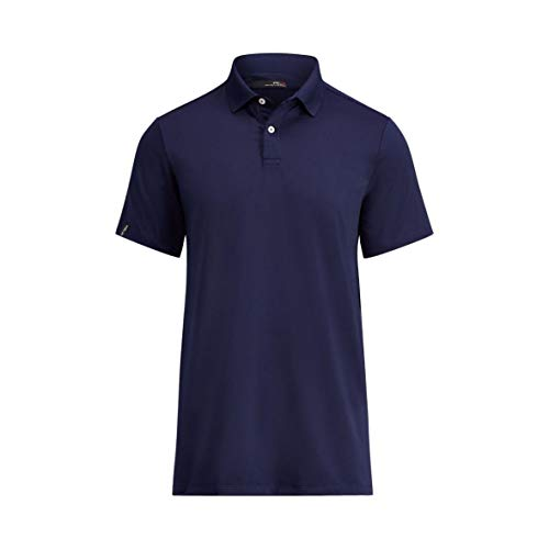 RALPH LAUREN Polo Short Sleeved Performance Polo Navy (Large)