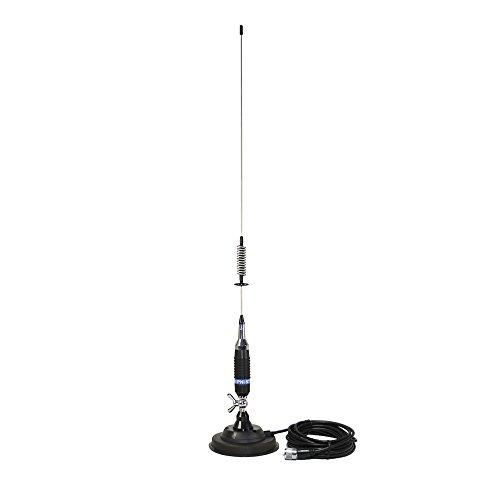 CB-antenne PNI S75 schroef vlinderhouder, 125 mm magnetische voet inbegrepen, 76 cm, 4 m RG58 kabel meegeleverd