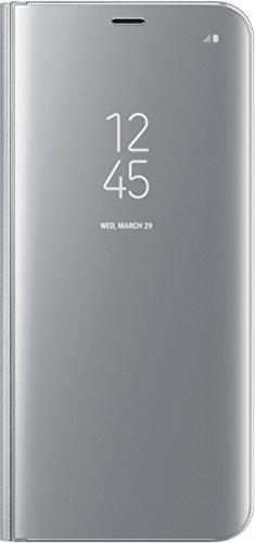 Samsung Clear View Standing, Funda para smartphone Samsung Galaxy S8 Plus, Plateado