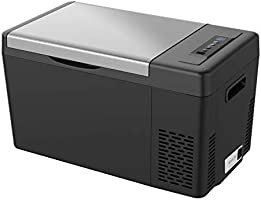 F40C4TMP 車載冷蔵庫 22L -22℃~10℃ ポータブル冷蔵庫 2電源対応 12V 24V 100V 冷蔵冷凍 静音 ACコード DCコード 取扱説明書付き