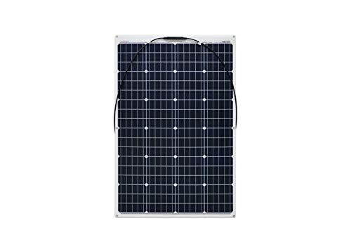 enjoy solar ETFE Marine 120W 12V Pannello Solare Semiflessibile Celle Perc ideale per Camper Yacht Barca