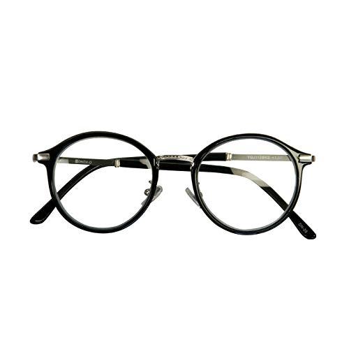 ダルトン リーディンググラス 老眼鏡 YGJ112 Black_Matt silver +2.0