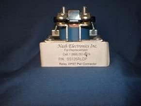 SS125RLDP Tower Lighting DPST 120 VAC Power Relay-Aerial Obstruction Lighting System Relay