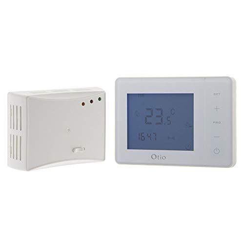 Thermostat programmable sans fil blanc - Otio