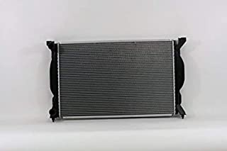 Radiator - Pacific Best Inc For/Fit 2557 02-05 Audi A4/S4 1.8L WITHOUT Engine Oil Cooler 05-08 A4/S4 2.0L Manual Transmission Plastic Tank Aluminum Core