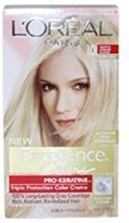 Excellence Creme Pro - Keratine 10 Light Ultimate Blonde - Natural by L'Oreal - 1 Application Hair Color by L'Oreal Paris [並行輸入品]